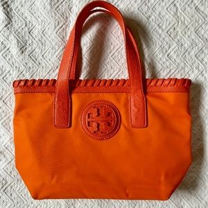 Tory Burch orange tote Marion